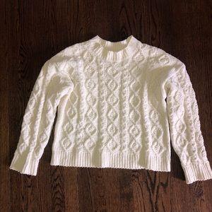 Ruby and Jenna white sweater